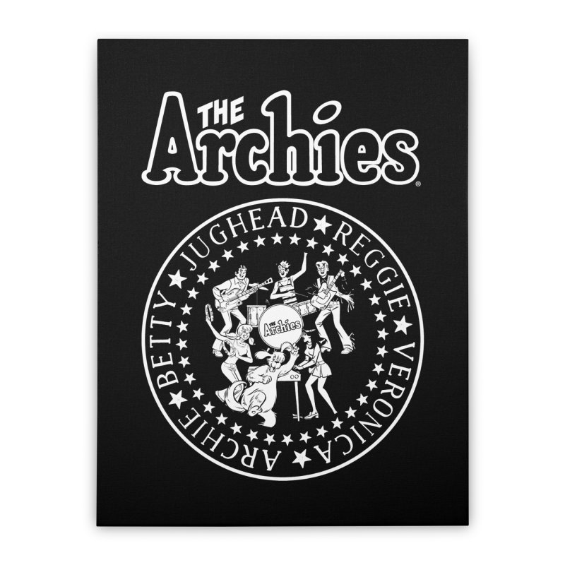 The Archies Home Stretched Canvas by archiecomics's Artist Shop