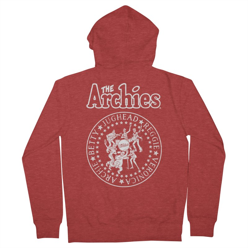 The Archies Women's French Terry Zip-Up Hoody by archiecomics's Artist Shop