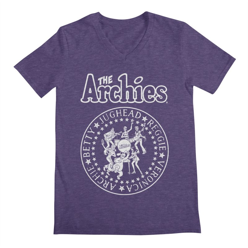The Archies Men's Regular V-Neck by Archie Comics