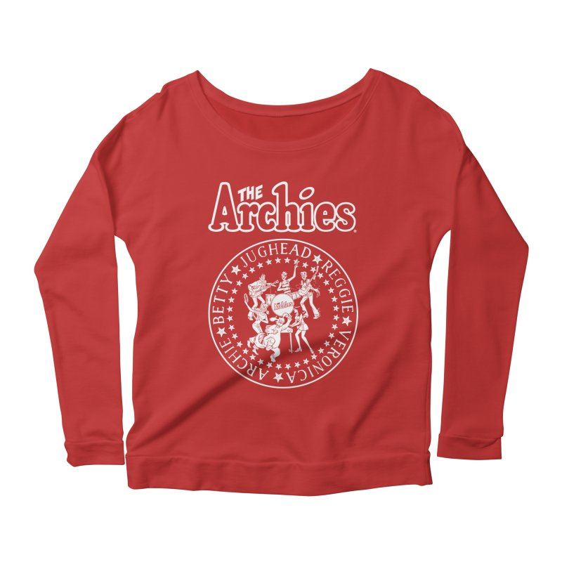 The Archies Women's Scoop Neck Longsleeve T-Shirt by archiecomics's Artist Shop