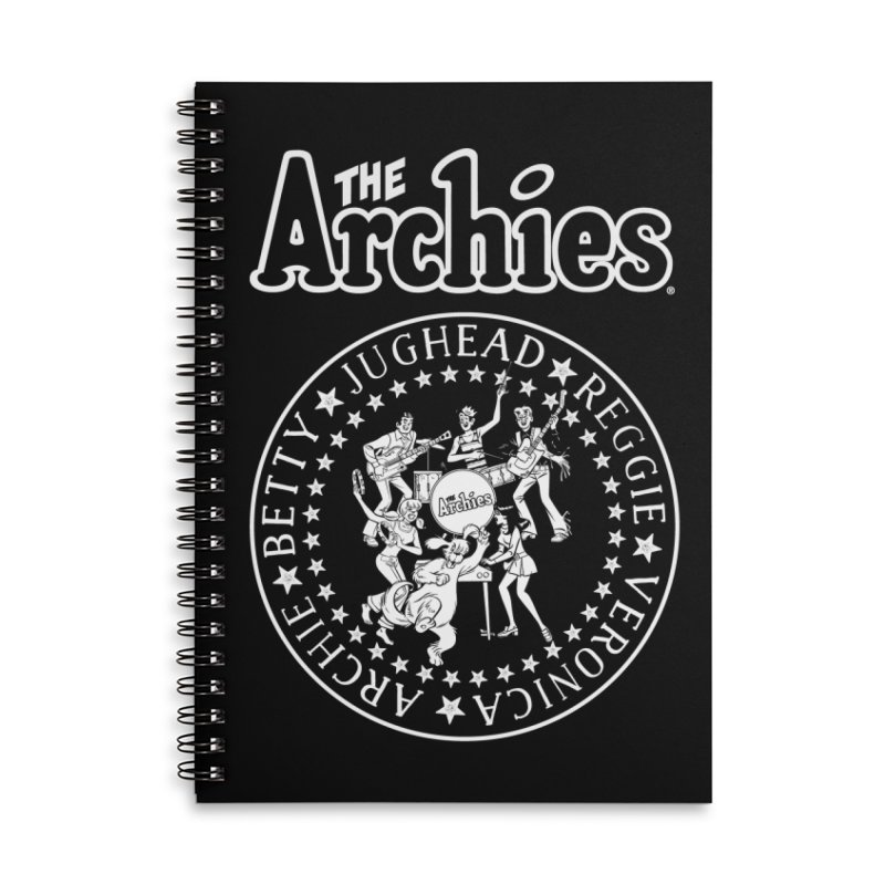 The Archies Accessories Lined Spiral Notebook by Archie Comics