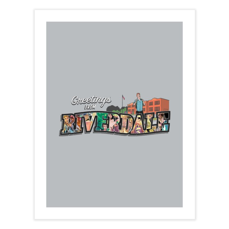 Greetings from Riverdale  Home Fine Art Print by Archie Comics