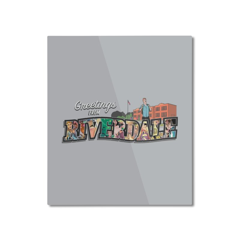 Greetings from Riverdale  Home Mounted Aluminum Print by archiecomics's Artist Shop