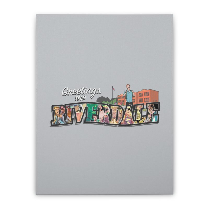 Greetings from Riverdale  Home Stretched Canvas by archiecomics's Artist Shop