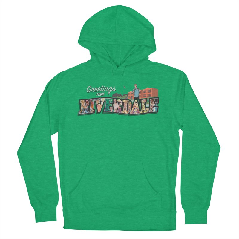 Greetings from Riverdale  Women's French Terry Pullover Hoody by Archie Comics