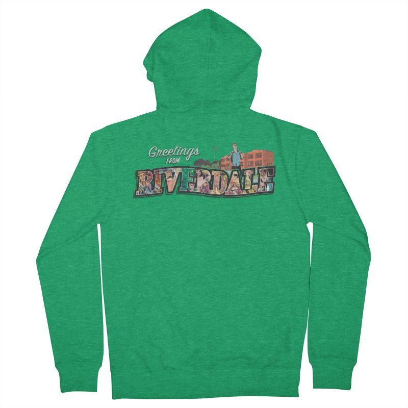 Greetings from Riverdale  Men's Zip-Up Hoody by archiecomics's Artist Shop