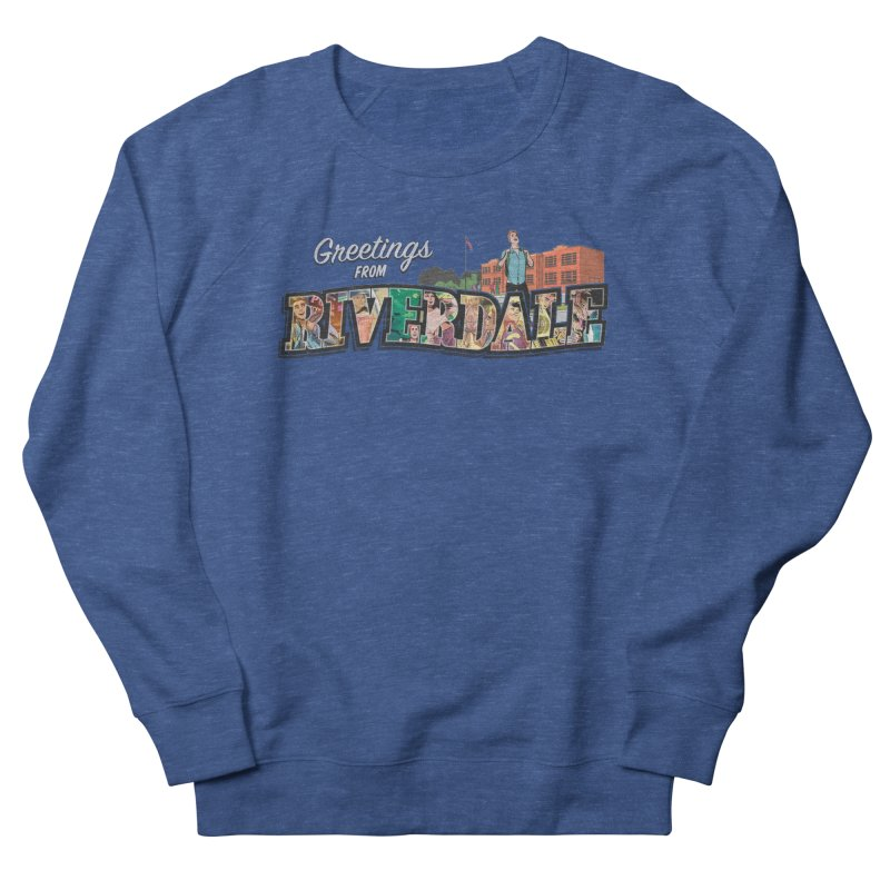 Greetings from Riverdale  Men's French Terry Sweatshirt by archiecomics's Artist Shop