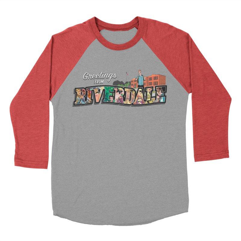 Greetings from Riverdale  Women's Baseball Triblend Longsleeve T-Shirt by archiecomics's Artist Shop