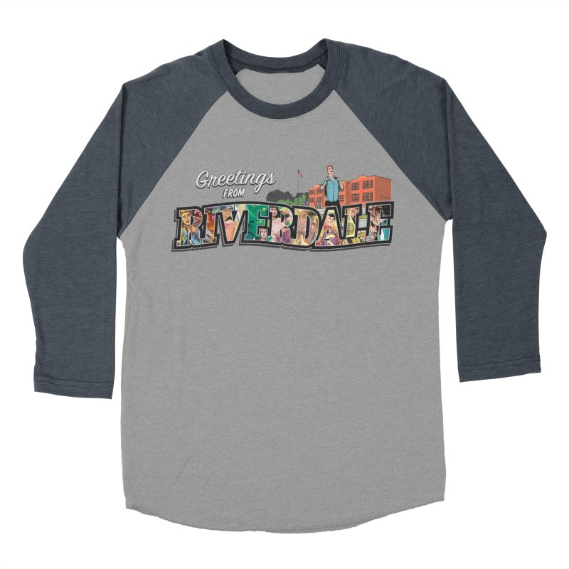 Greetings from Riverdale  Men's Baseball Triblend T-Shirt by archiecomics's Artist Shop