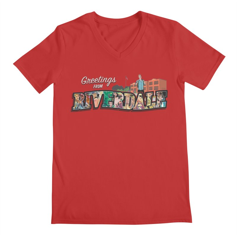 Greetings from Riverdale  Men's V-Neck by archiecomics's Artist Shop