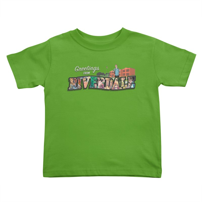 Greetings from Riverdale  Kids Toddler T-Shirt by Archie Comics