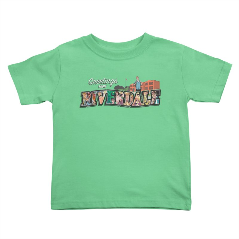 Greetings from Riverdale  Kids Toddler T-Shirt by archiecomics's Artist Shop