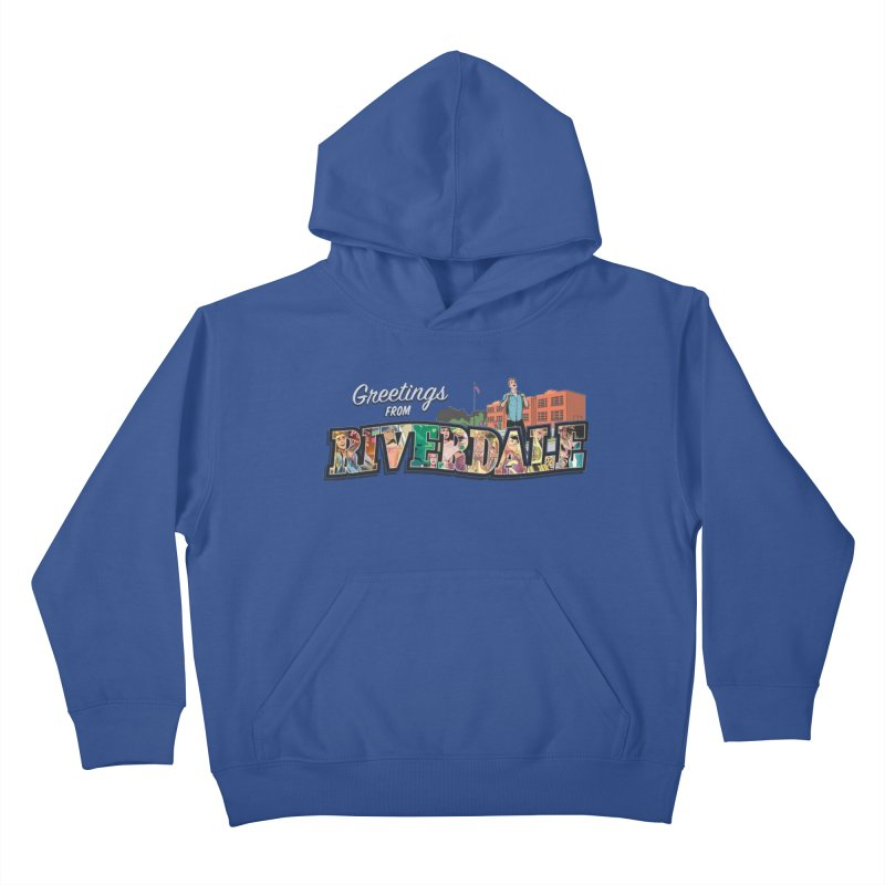 Greetings from Riverdale  Kids Pullover Hoody by archiecomics's Artist Shop
