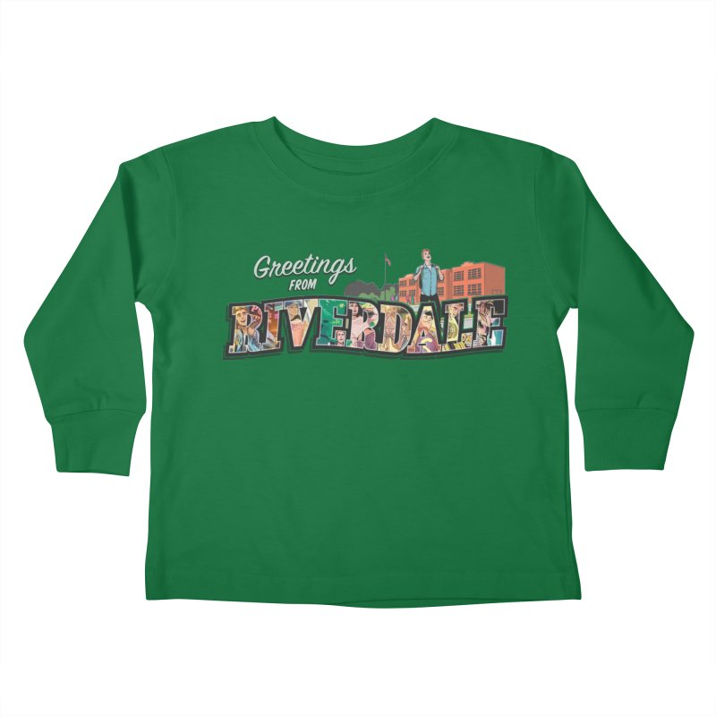 Greetings from Riverdale  Kids Toddler Longsleeve T-Shirt by archiecomics's Artist Shop