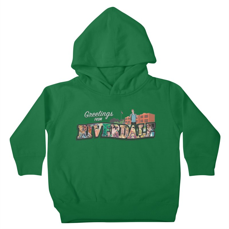 Greetings from Riverdale  Kids Toddler Pullover Hoody by archiecomics's Artist Shop
