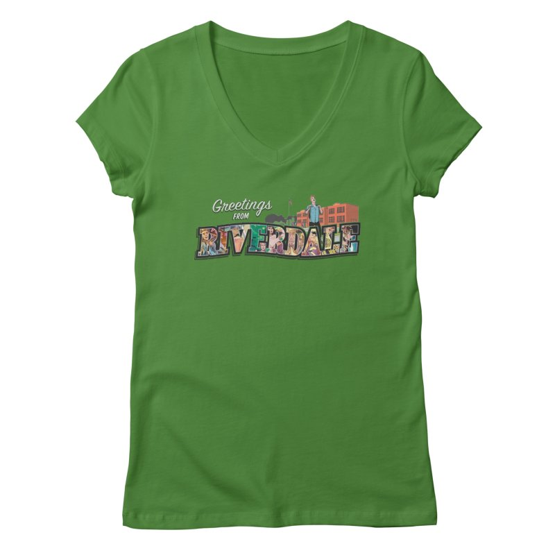 Greetings from Riverdale  Women's V-Neck by archiecomics's Artist Shop
