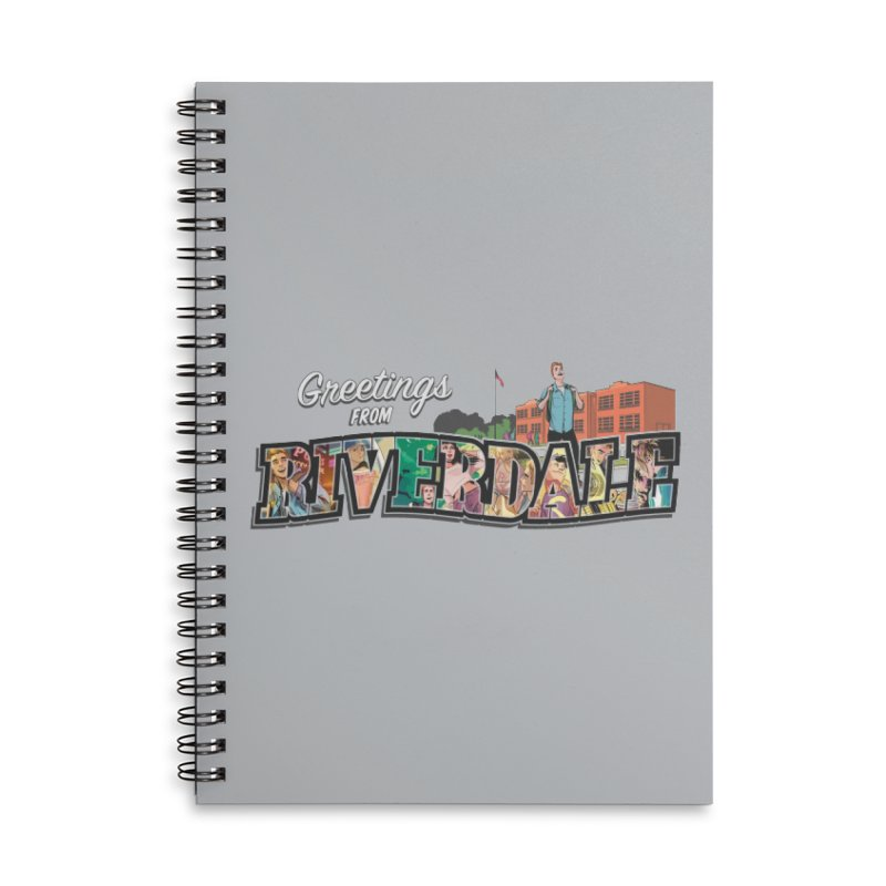 Greetings from Riverdale  Accessories Lined Spiral Notebook by Archie Comics