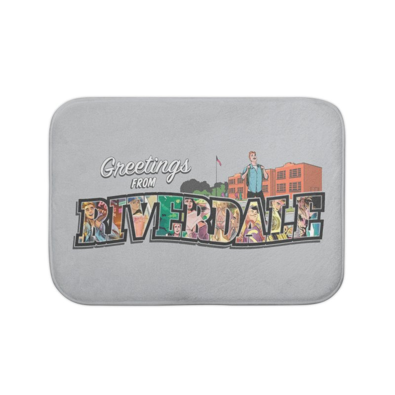 Greetings from Riverdale  Home Bath Mat by archiecomics's Artist Shop