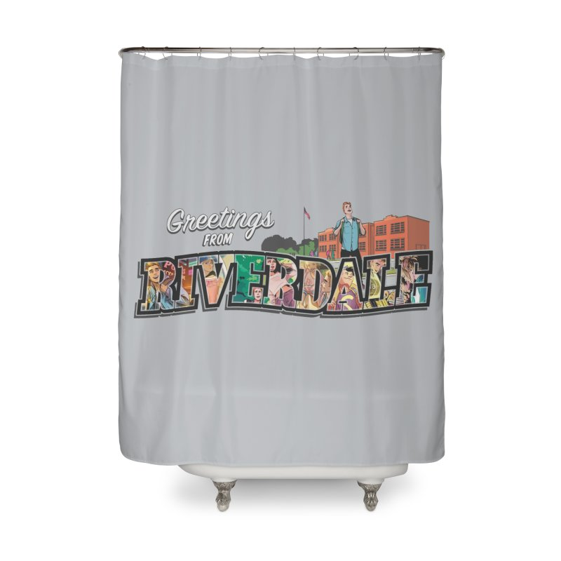 Greetings from Riverdale  Home Shower Curtain by archiecomics's Artist Shop