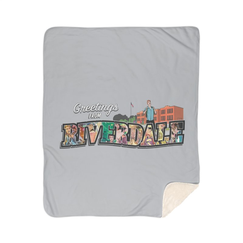 Greetings from Riverdale  Home Sherpa Blanket Blanket by Archie Comics