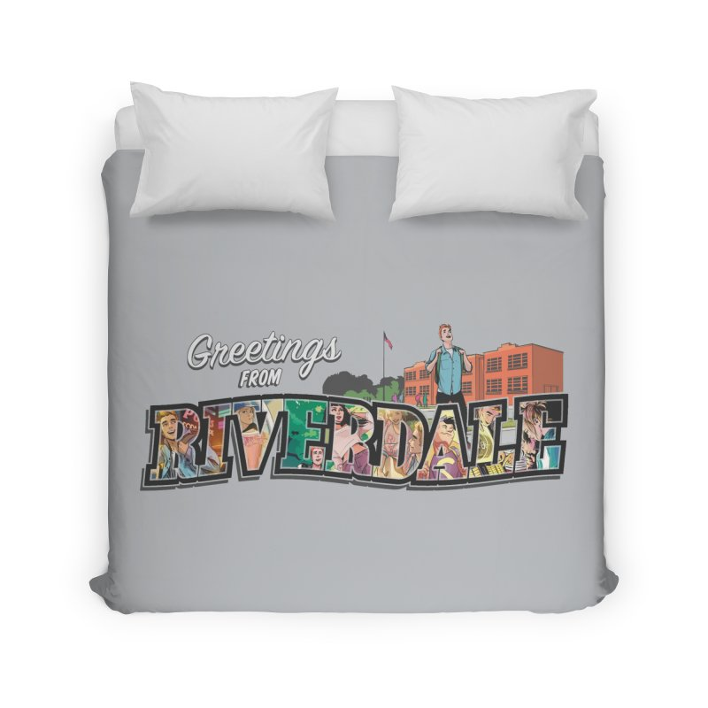 Greetings from Riverdale  Home Duvet by archiecomics's Artist Shop
