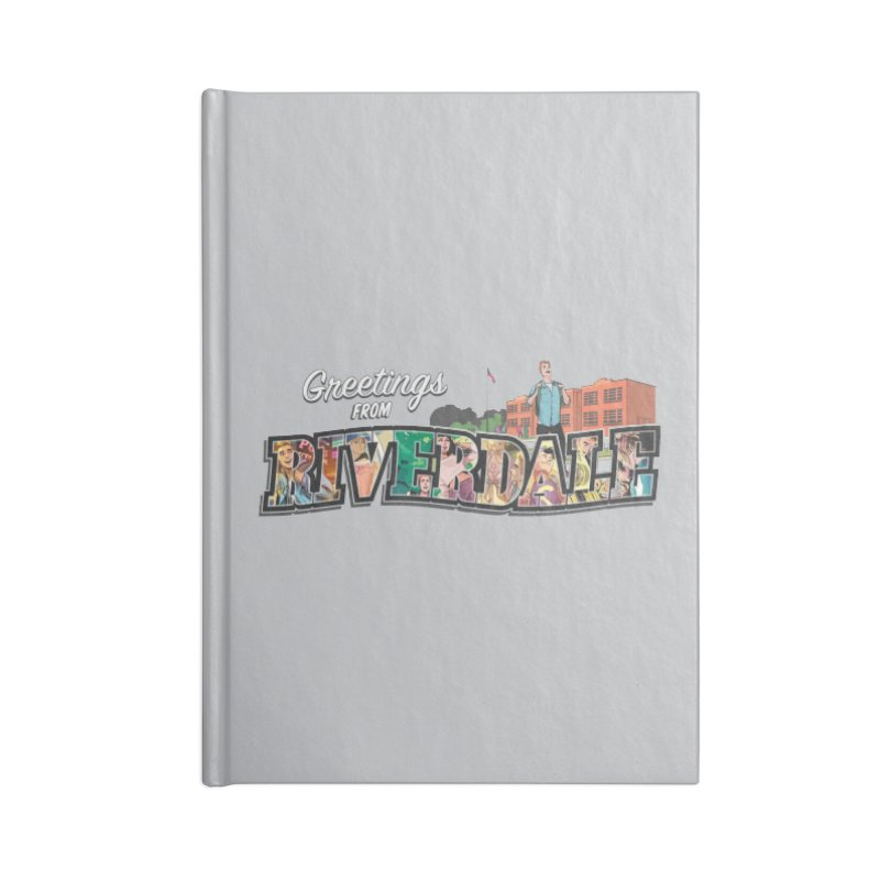 Greetings from Riverdale  Accessories Lined Journal Notebook by Archie Comics
