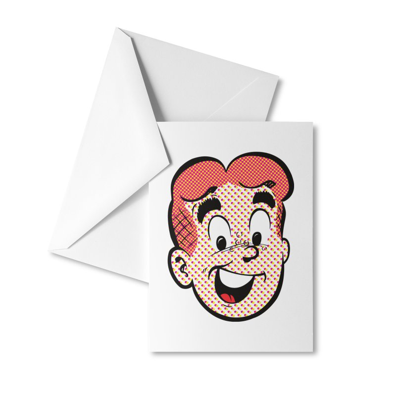 Halftone Archie Accessories Greeting Card by Archie Comics