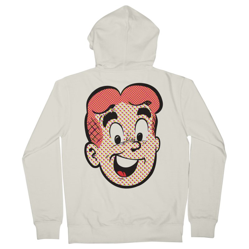 Halftone Archie Men's Zip-Up Hoody by Archie Comics