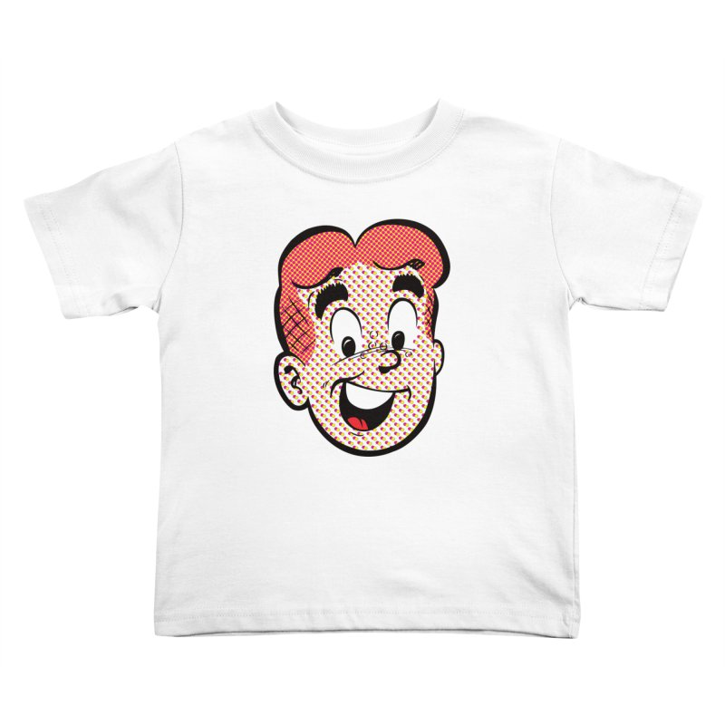 Halftone Archie Kids Toddler T-Shirt by Archie Comics