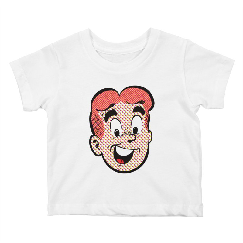 Halftone Archie Kids Baby T-Shirt by archiecomics's Artist Shop