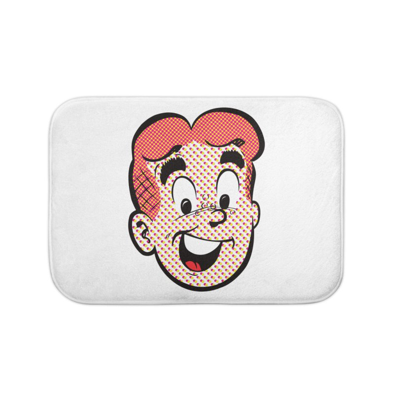 Halftone Archie Home Bath Mat by archiecomics's Artist Shop