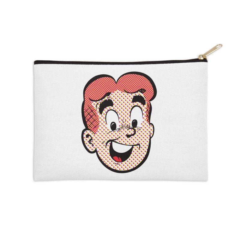 Halftone Archie Accessories Zip Pouch by archiecomics's Artist Shop