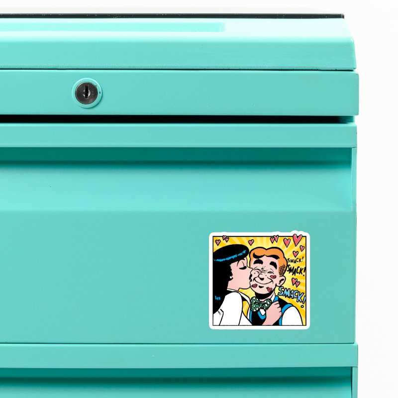 Archie And Veronica Accessories Magnet by Archie Comics