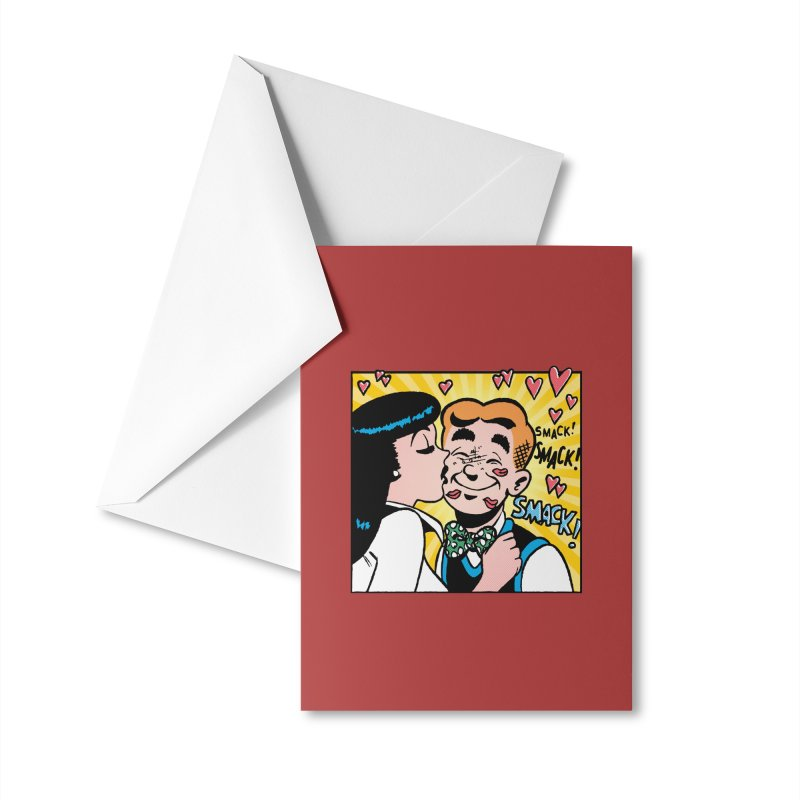 Archie And Veronica Accessories Greeting Card by Archie Comics