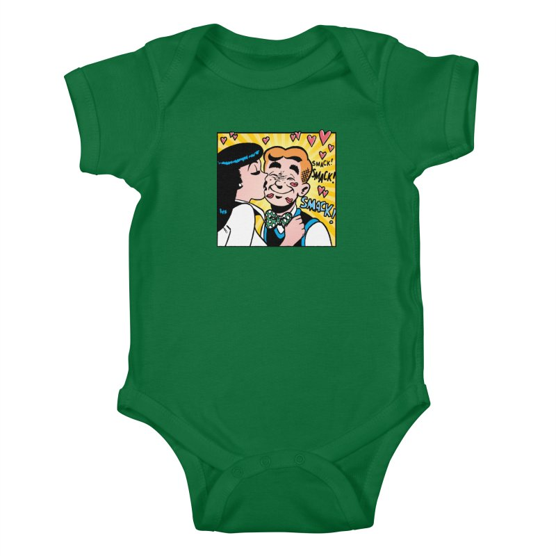 Archie And Veronica Kids Baby Bodysuit by Archie Comics