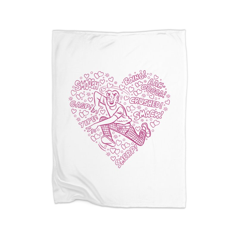 Archie In Love Home Blanket by Archie Comics