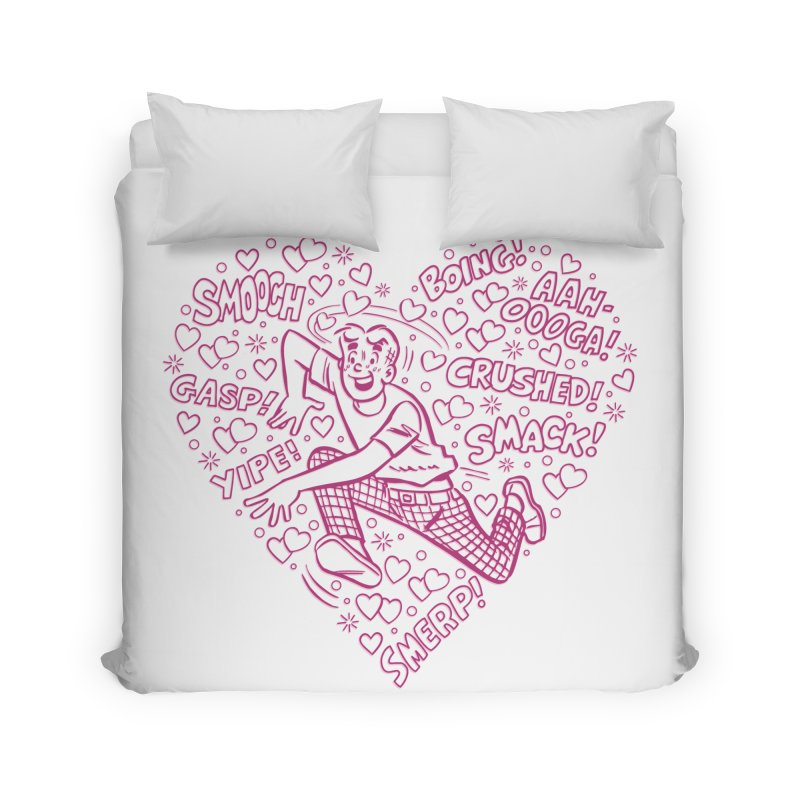Archie In Love Home Duvet by Archie Comics