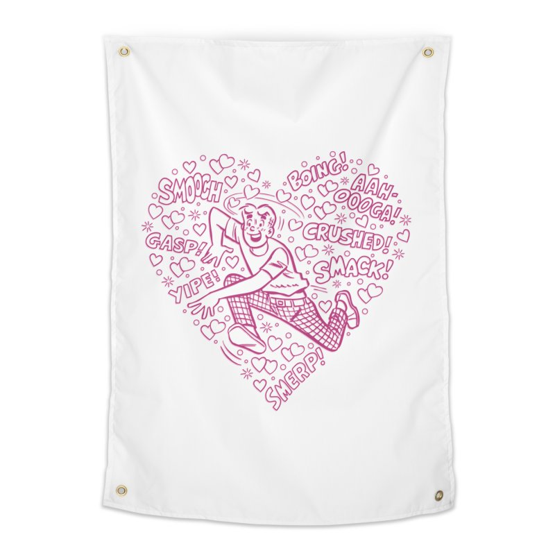 Archie In Love Home Tapestry by Archie Comics