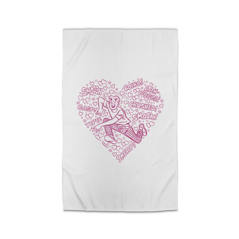 Archie In Love Home Rug by Archie Comics