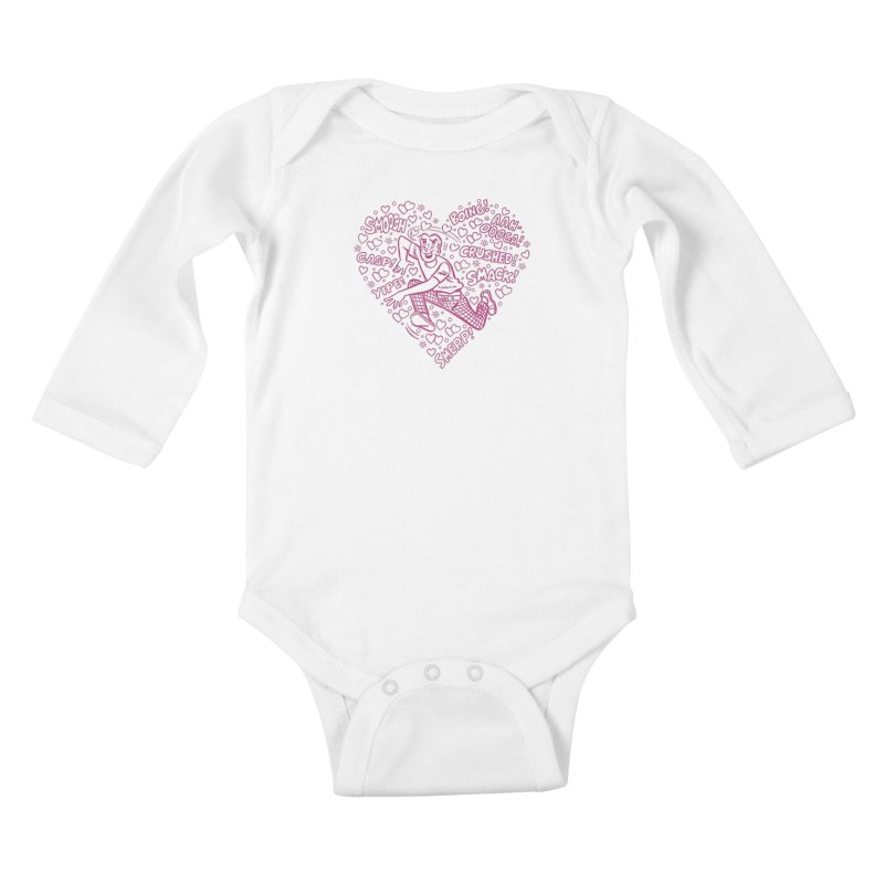 Archie In Love Kids Baby Longsleeve Bodysuit by Archie Comics