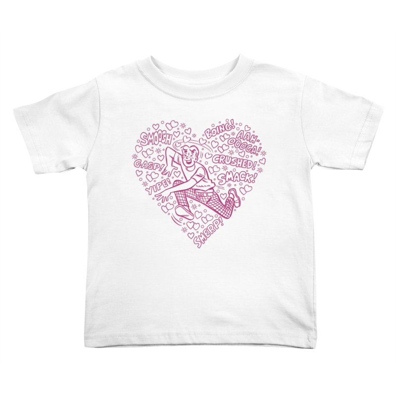 Archie In Love Kids Toddler T-Shirt by Archie Comics