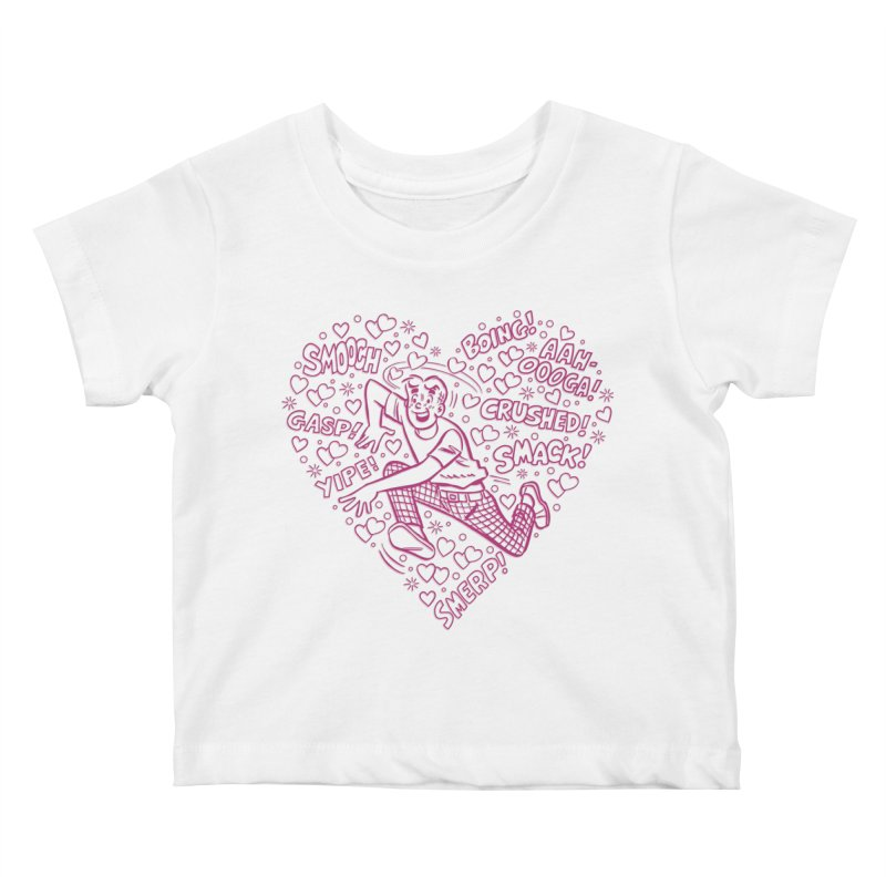 Archie In Love Kids Baby T-Shirt by Archie Comics