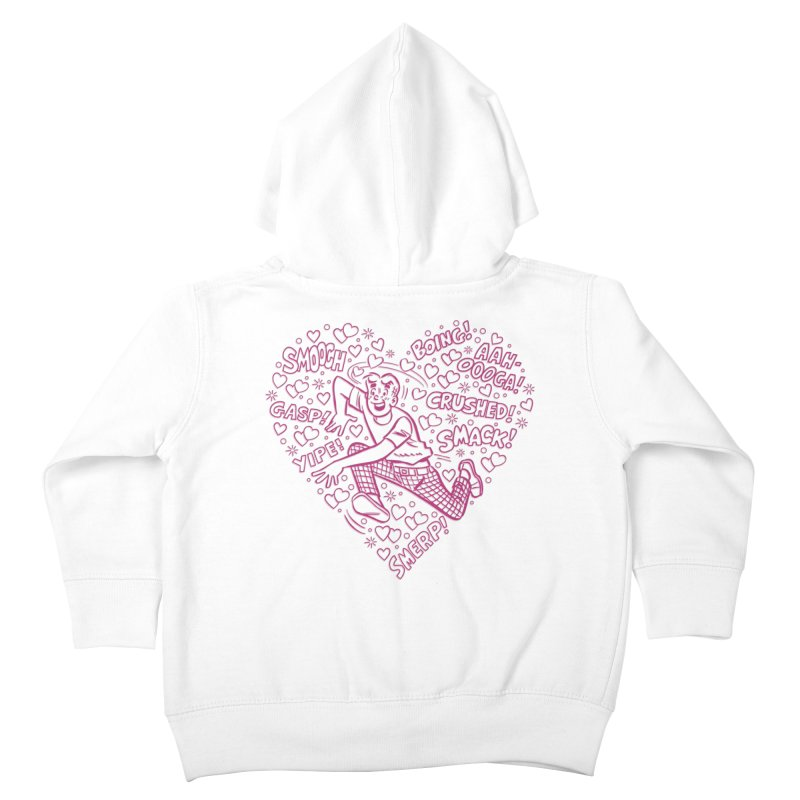 Archie In Love Kids Toddler Zip-Up Hoody by Archie Comics