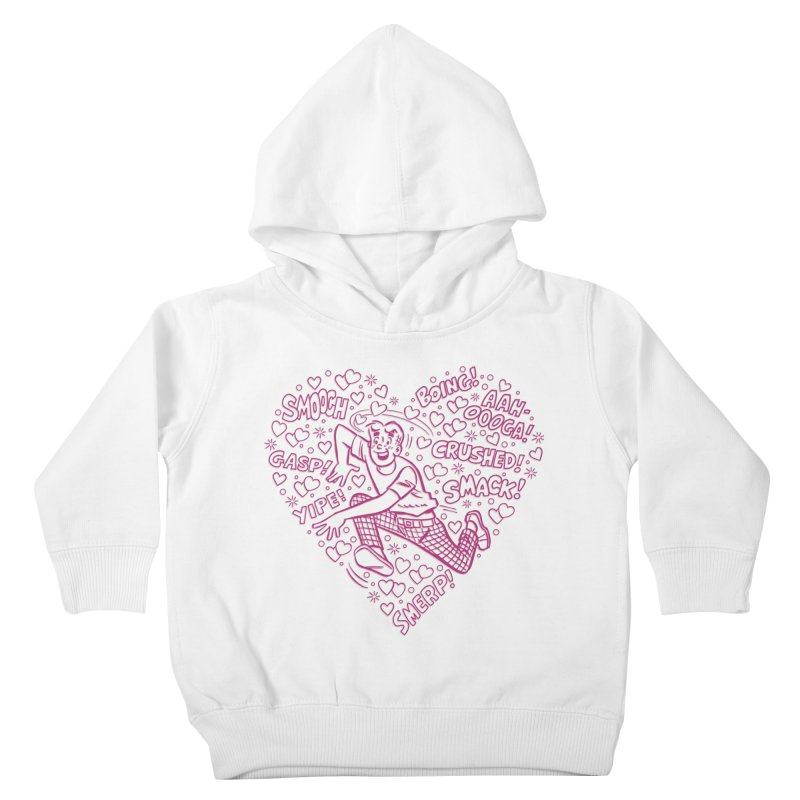Archie In Love Kids Toddler Pullover Hoody by Archie Comics