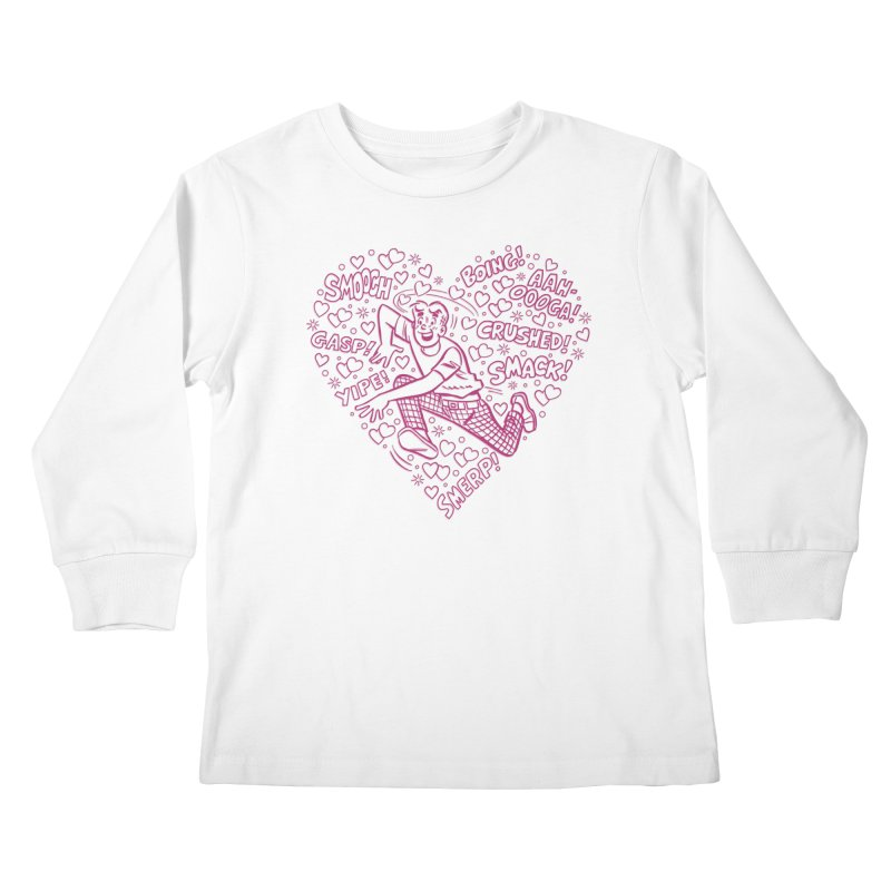 Archie In Love Kids Longsleeve T-Shirt by Archie Comics