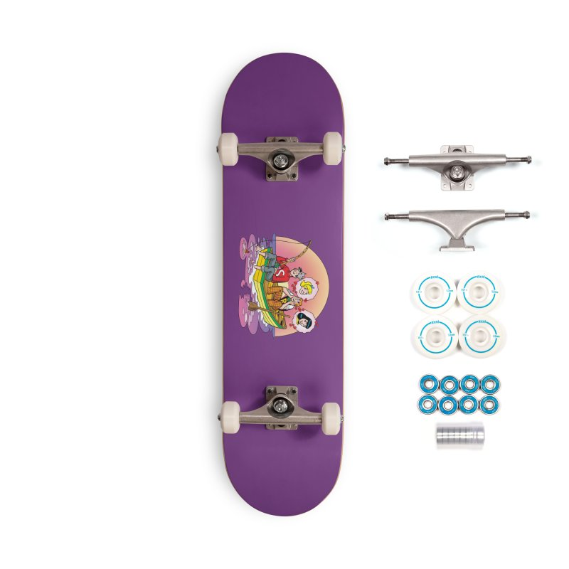 Rowboat Accessories Skateboard by Archie Comics