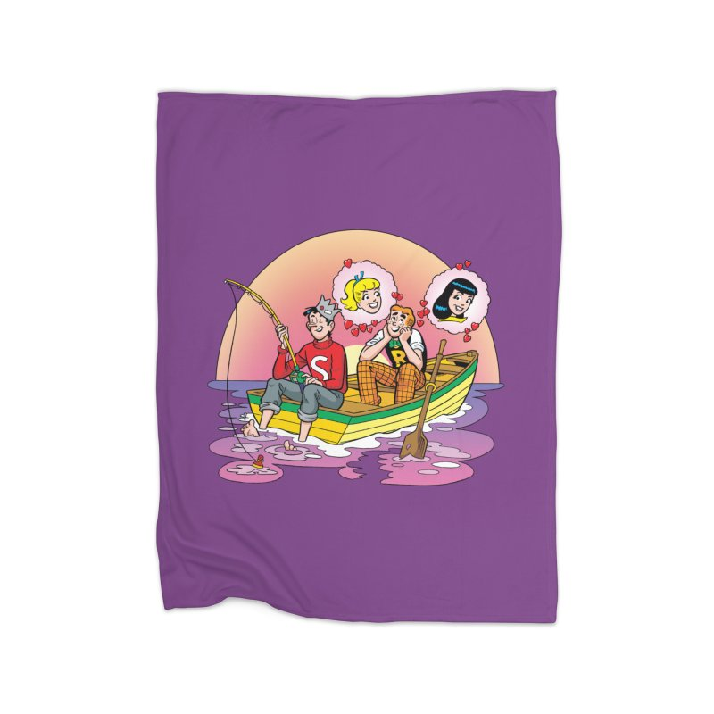 Rowboat Home Blanket by Archie Comics
