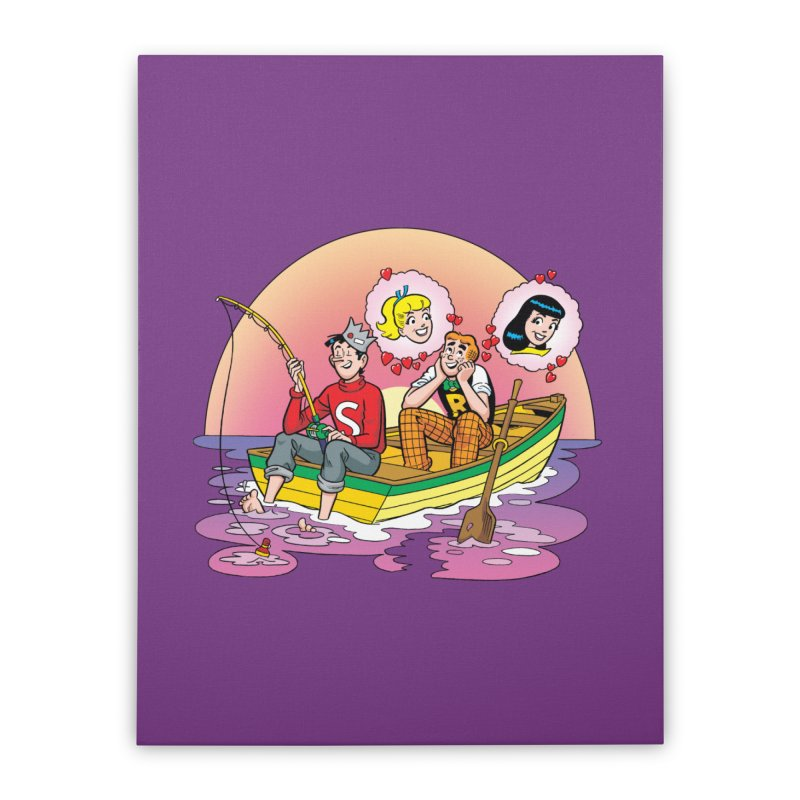 Rowboat Home Stretched Canvas by Archie Comics