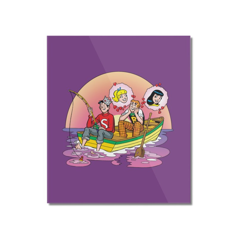 Rowboat Home Mounted Acrylic Print by Archie Comics