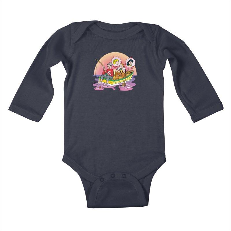 Rowboat Kids Baby Longsleeve Bodysuit by Archie Comics
